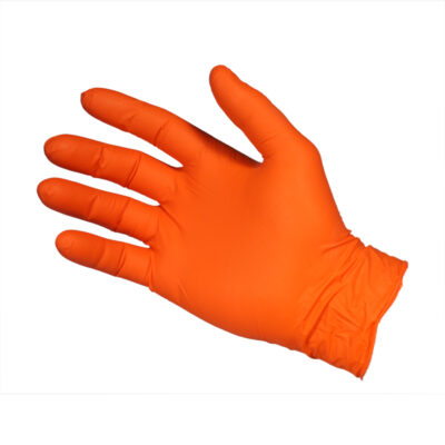 Gloves4U Orange Nitrile Gloves