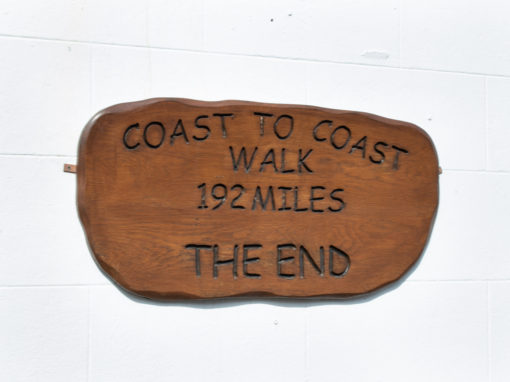Finish the coast to coast walk and enjoy a refreshing drink at Wainwrights Bar