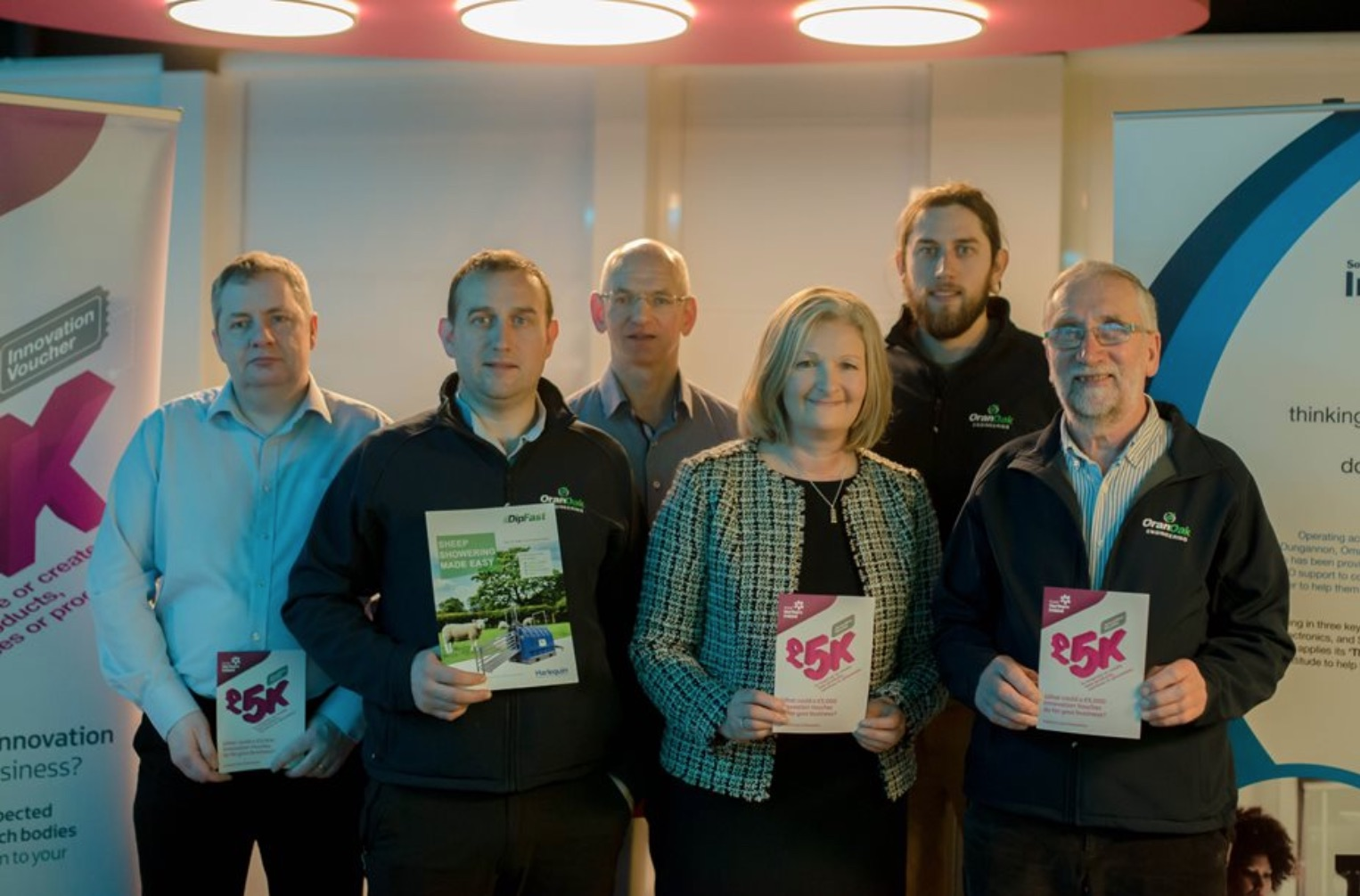 Oran Oak Engineering encourage local businesses to avail of innovation vouchers