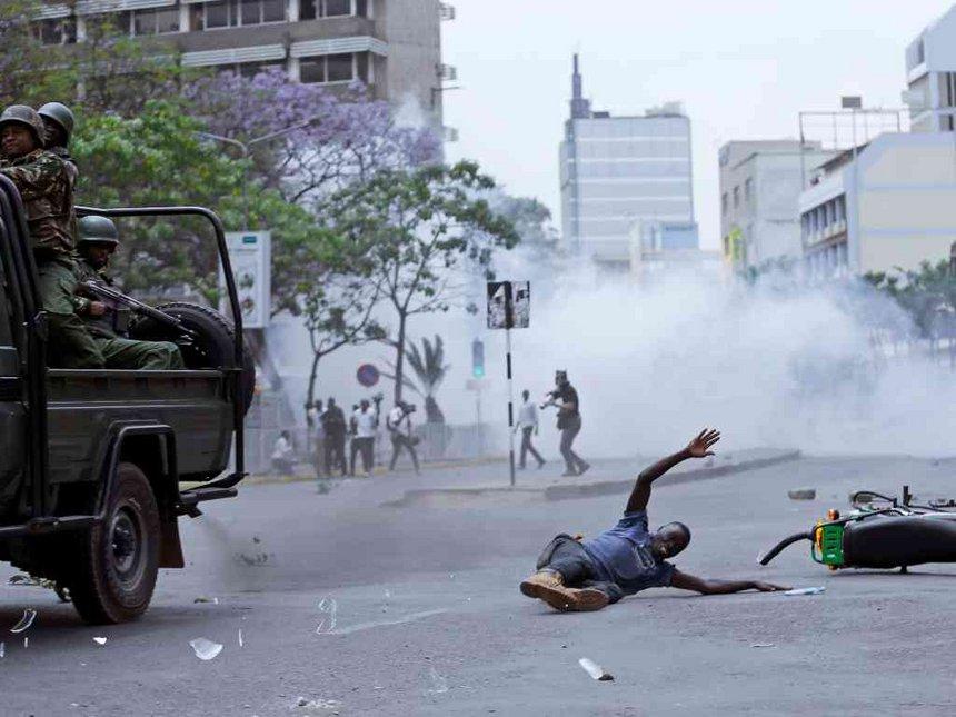 anti iebc demos nai star