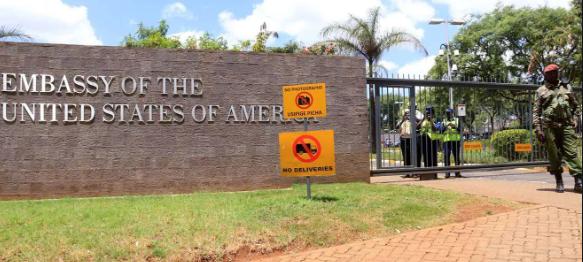 US Embassy In Nairobi