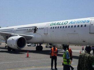 Daallo Plane