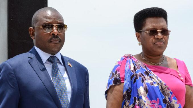 Burundi First Lady Denise Nkurunziza Airlifted To Aga Khan ...