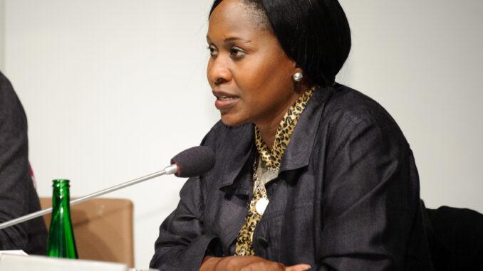 Kenya's Ambassador to France Prof Judy Wakhungu