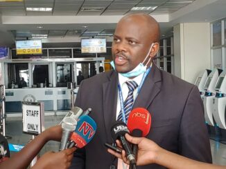 Uganda Health Ministry Spokesperson, Emmanuel Ainebyoona