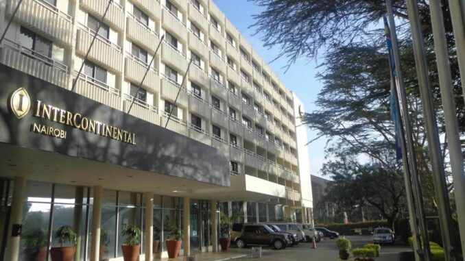 InterContinental Hotel Nairobi.