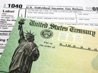 US Tax return form