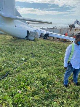 Silverstone Air cargo plane