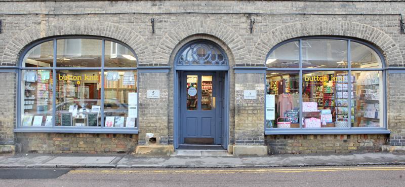 button knit shop front