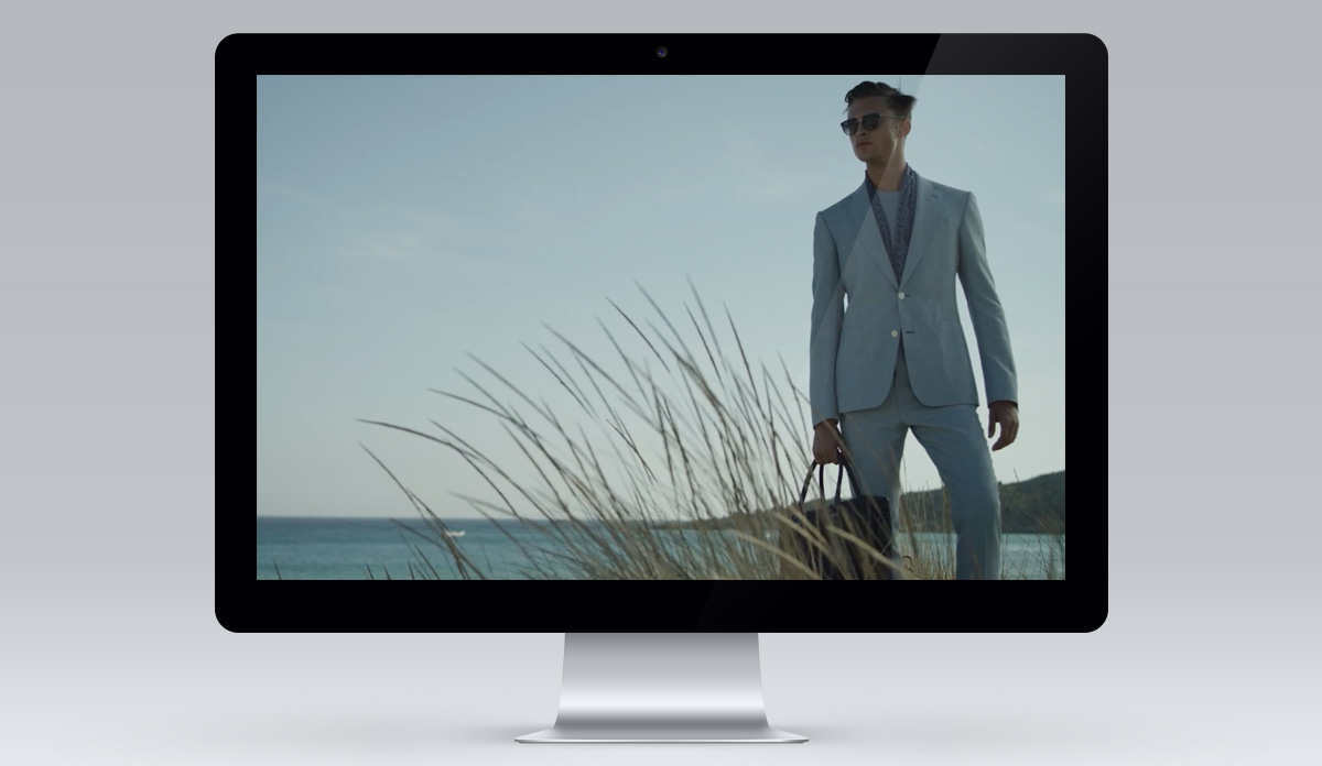 Gieves and Hawkes screen 2