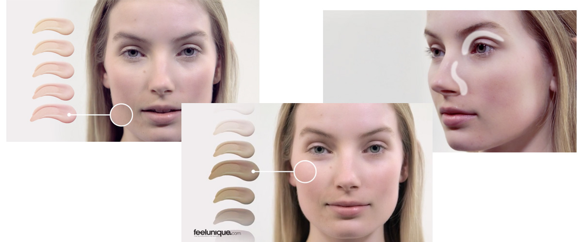 FEEL UNIQUE make-up tutorials 5