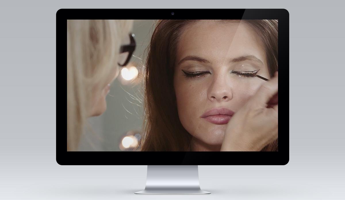 FEEL UNIQUE make-up tutorials screen 1