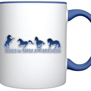 PSSM Awareness Mug- Blue