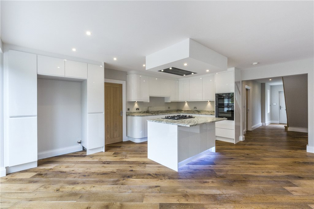 Modern Kitchen with Bifold Doors