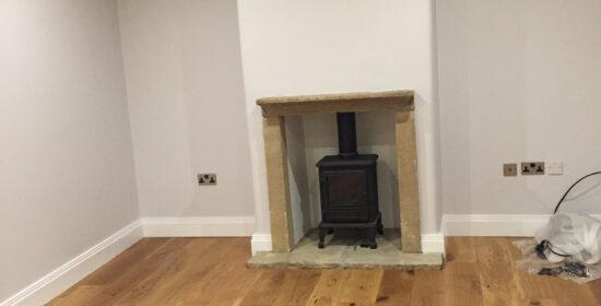Living Room home renovation East Morton Yorkshire