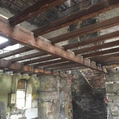 derelict house renovation Yorkshire