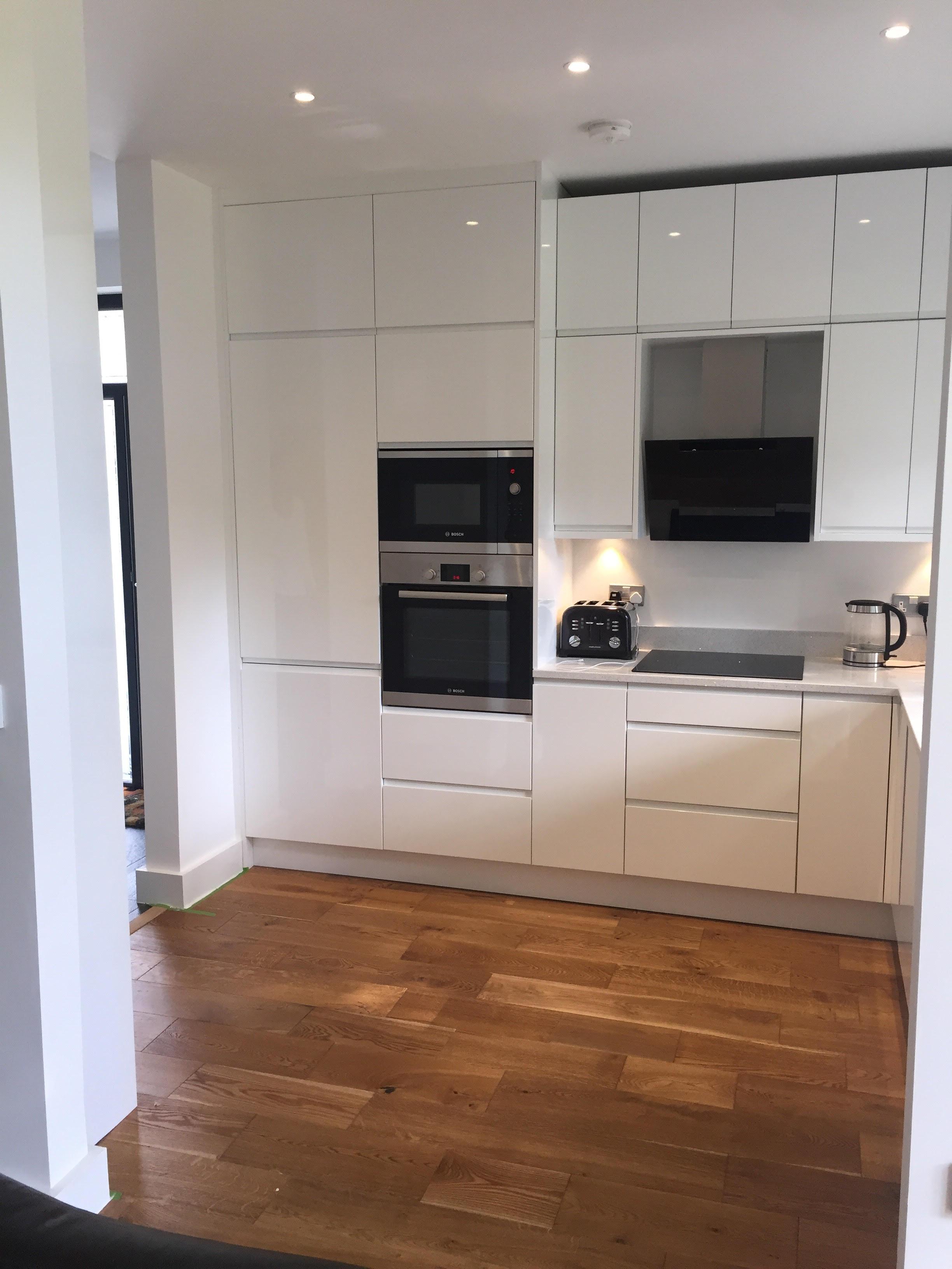 Kitchen Fitting in House Refurb Bingley west yorkshire