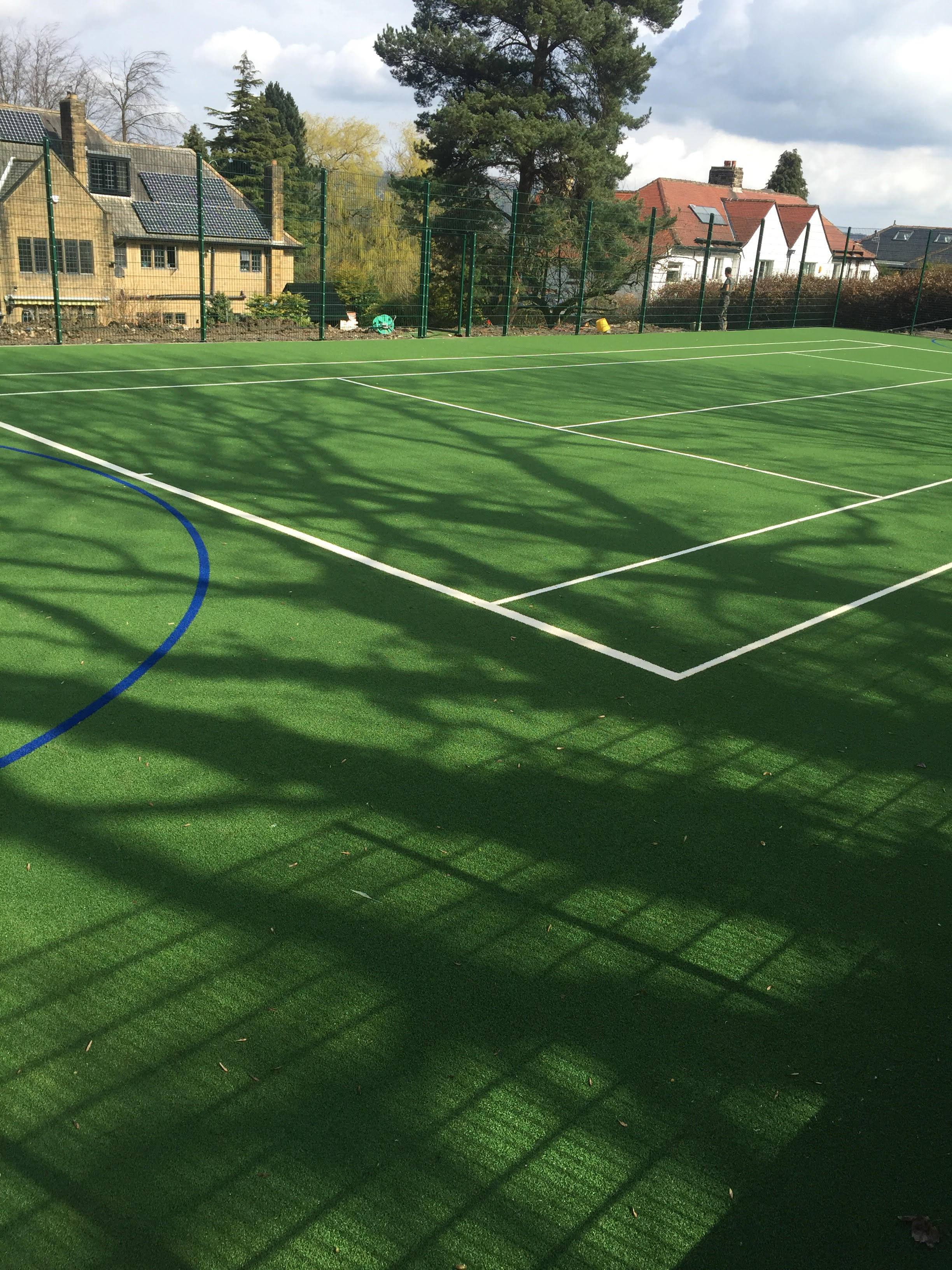 Football Pitch Build for House Extension