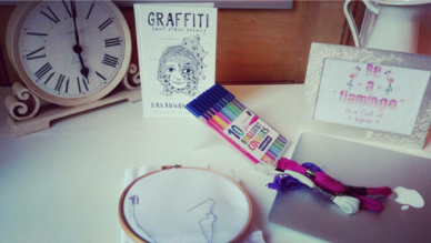 Cross Stitching – Approach With Caution