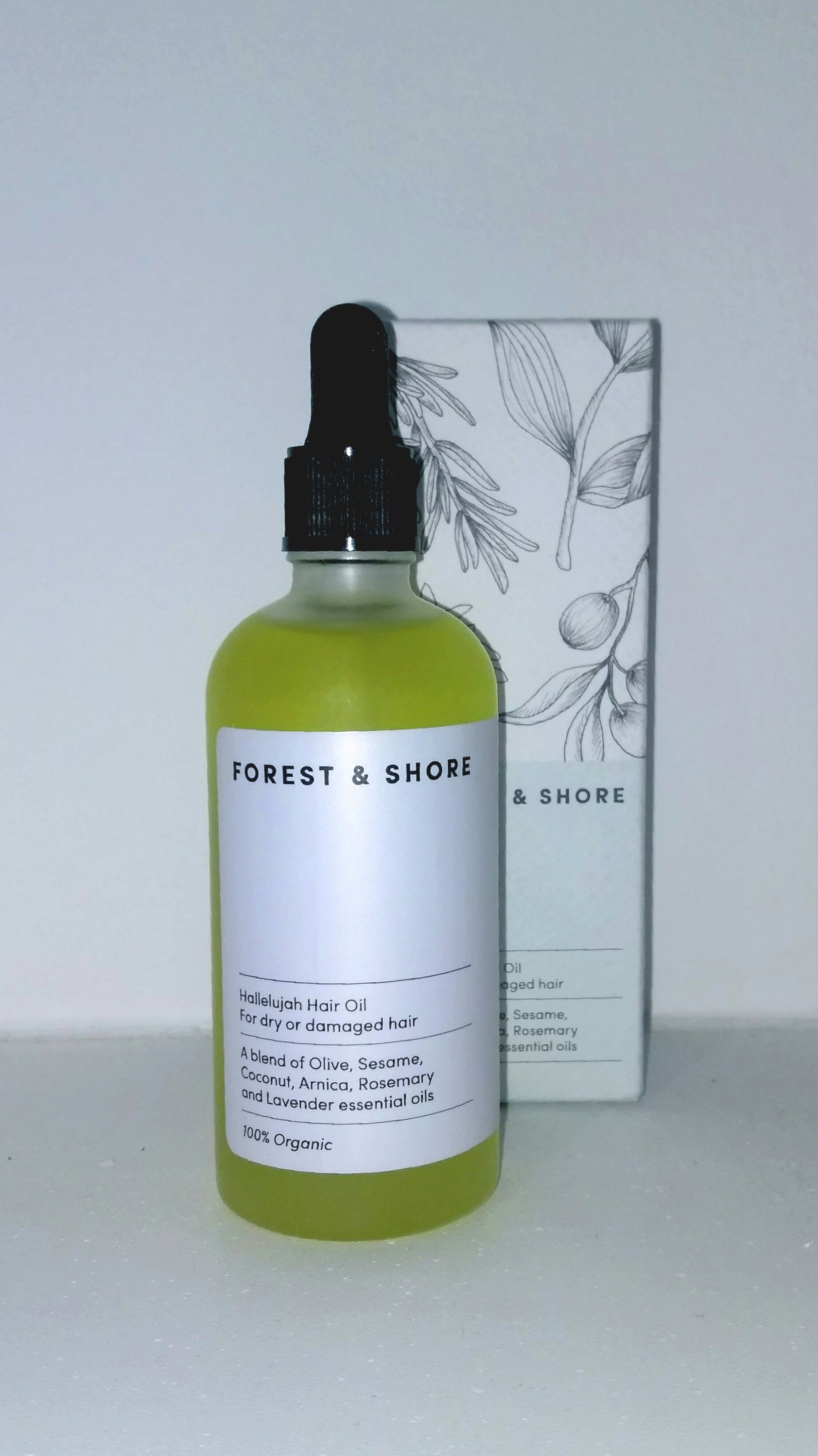 forest and shore hair oil bottle review