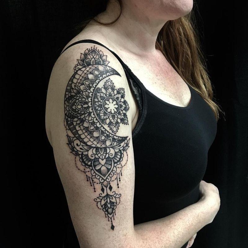 beautiful lace tattoo ideas