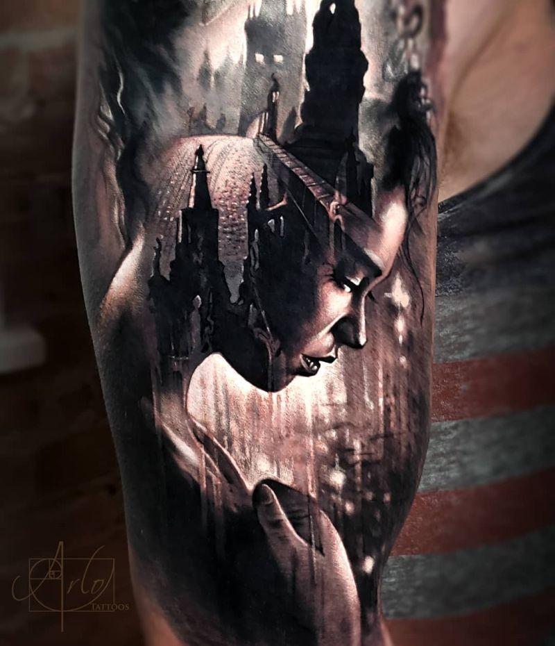 awesome morph tattoos