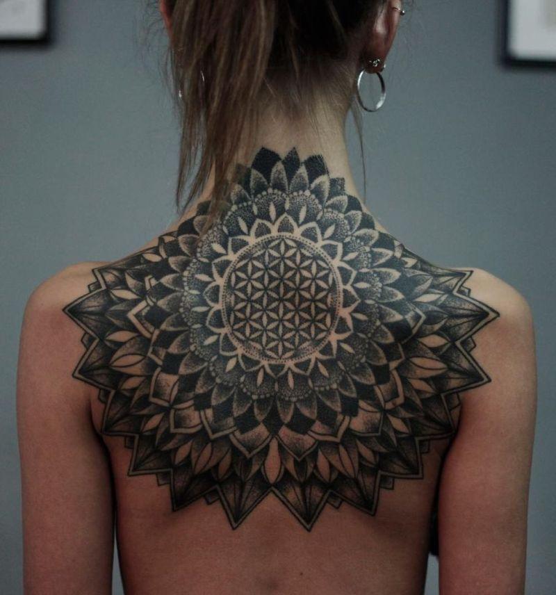 best mandala tattoos