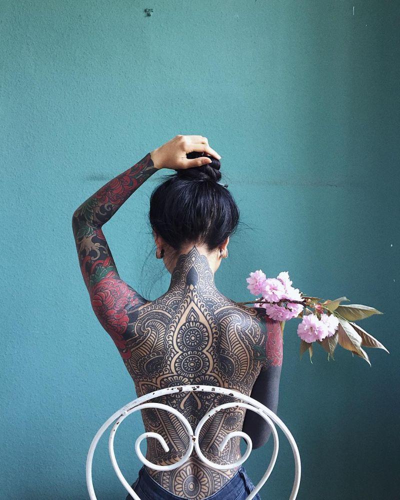 creative mandala tattoos