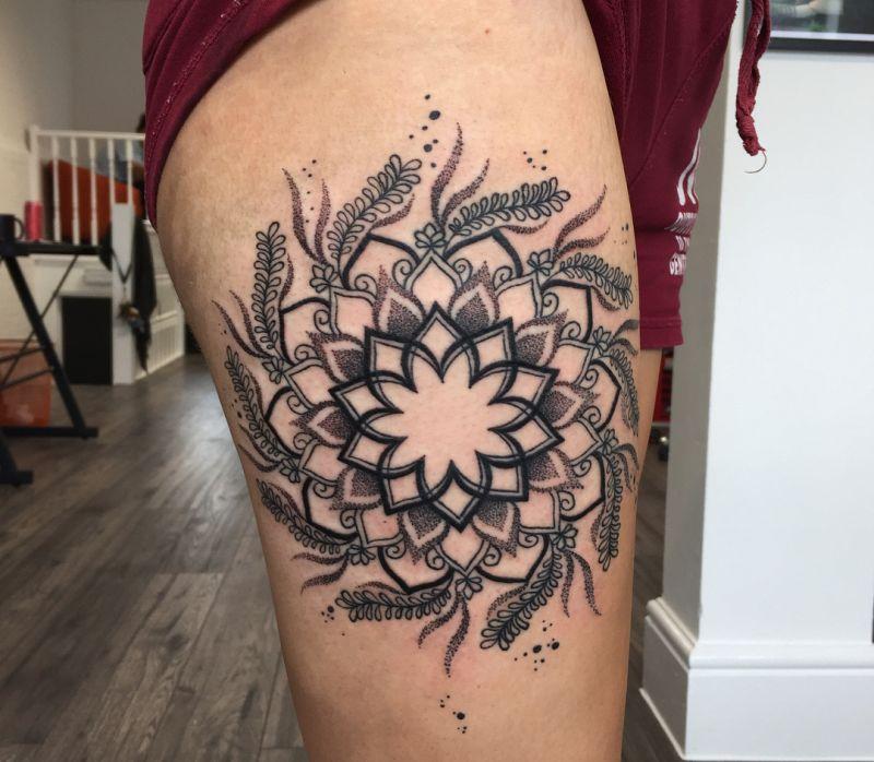 best mandala tattoo ideas