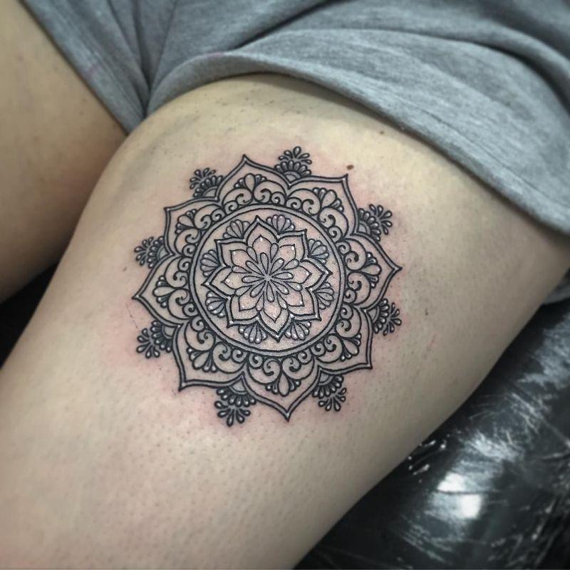 cute mandala tattoos
