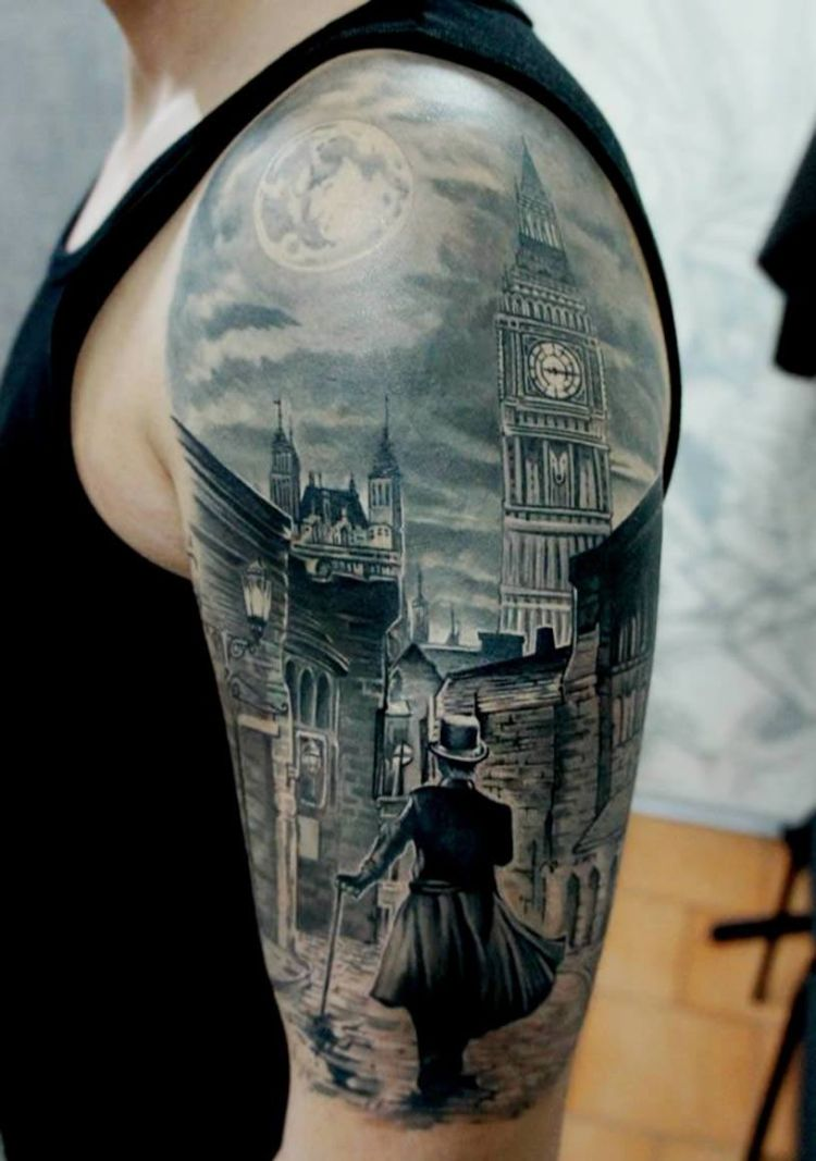 architecture tattoos