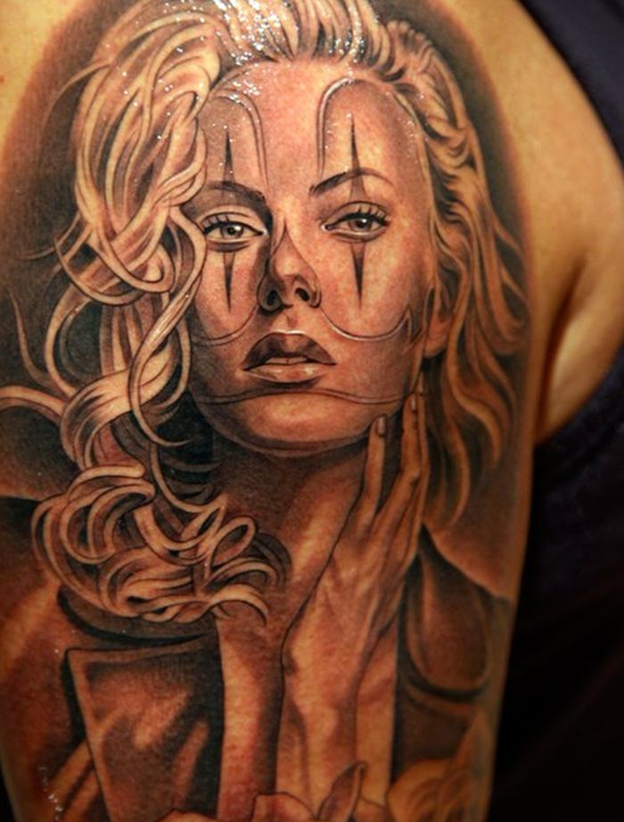 beautiful hyper-realistic tattoos