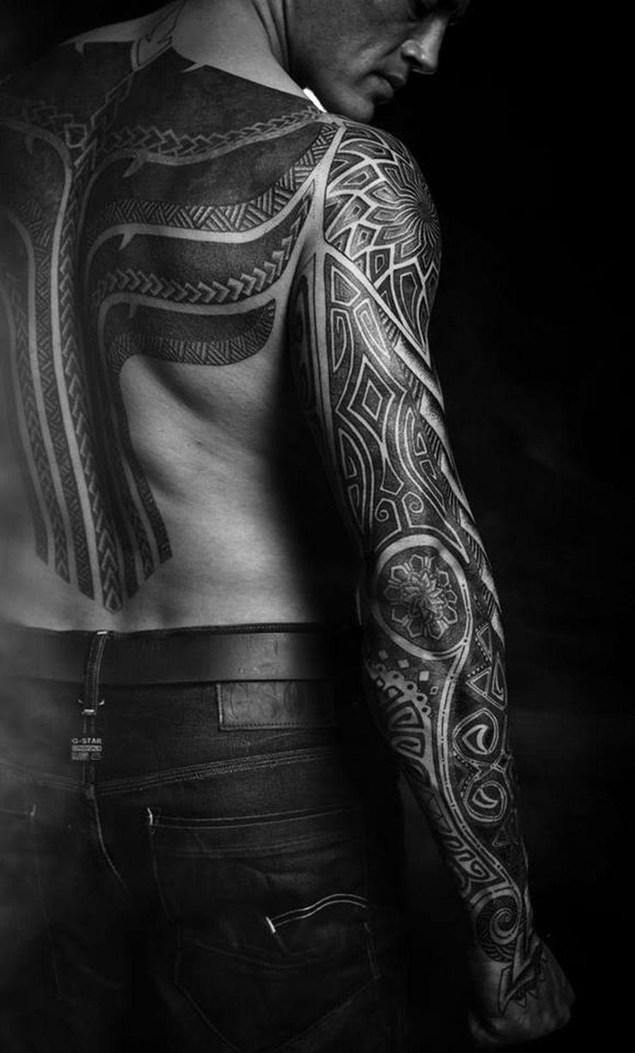 vikings inspired tattoo