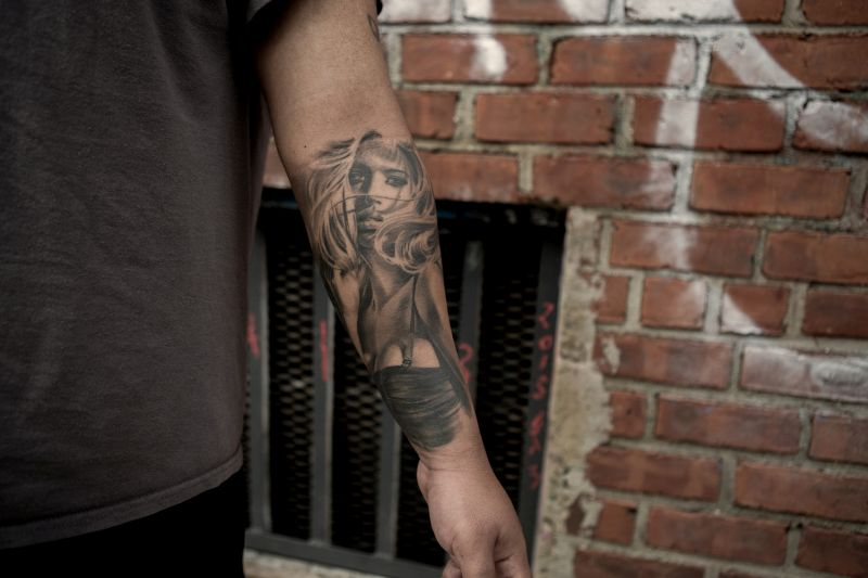 Black & Grey Realistic Tattoos