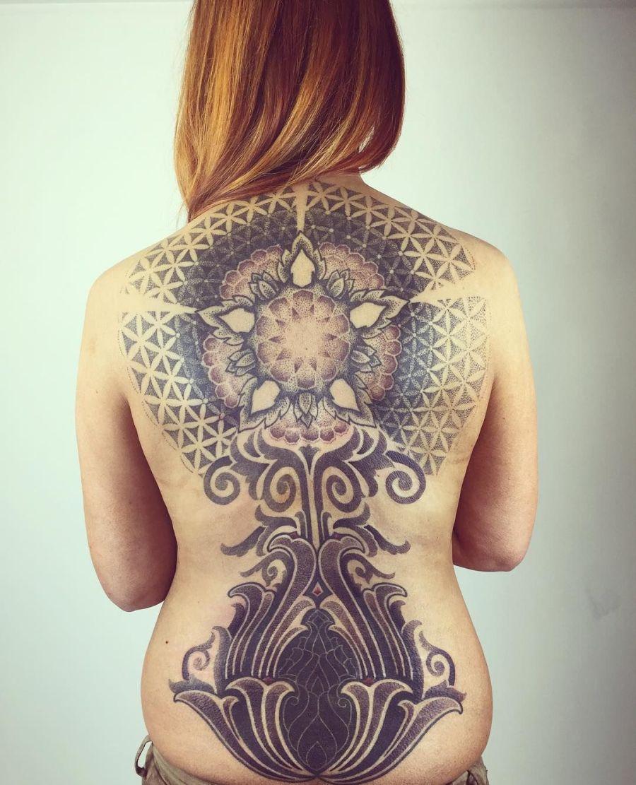 vikings tattoos for girls