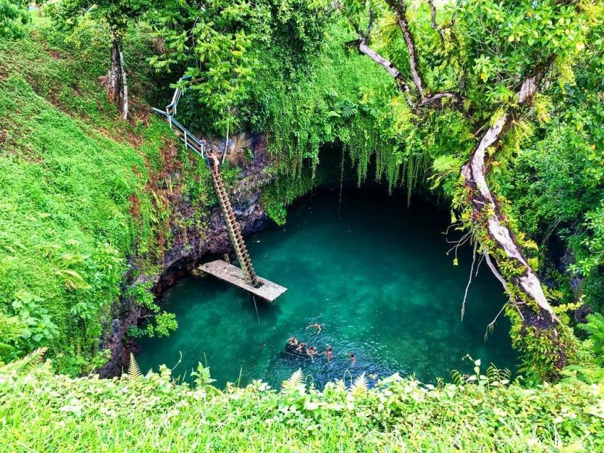 spectacular swimming holes