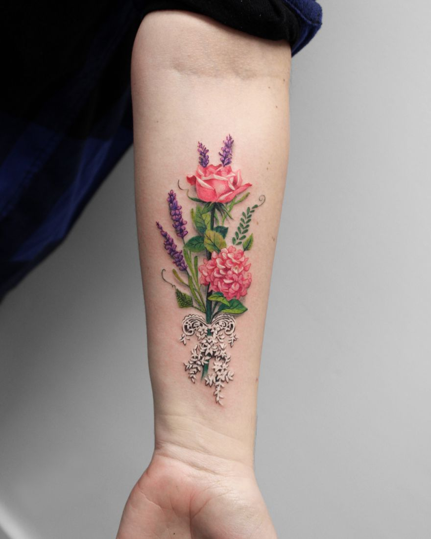 tattoo by Deborah Genchi