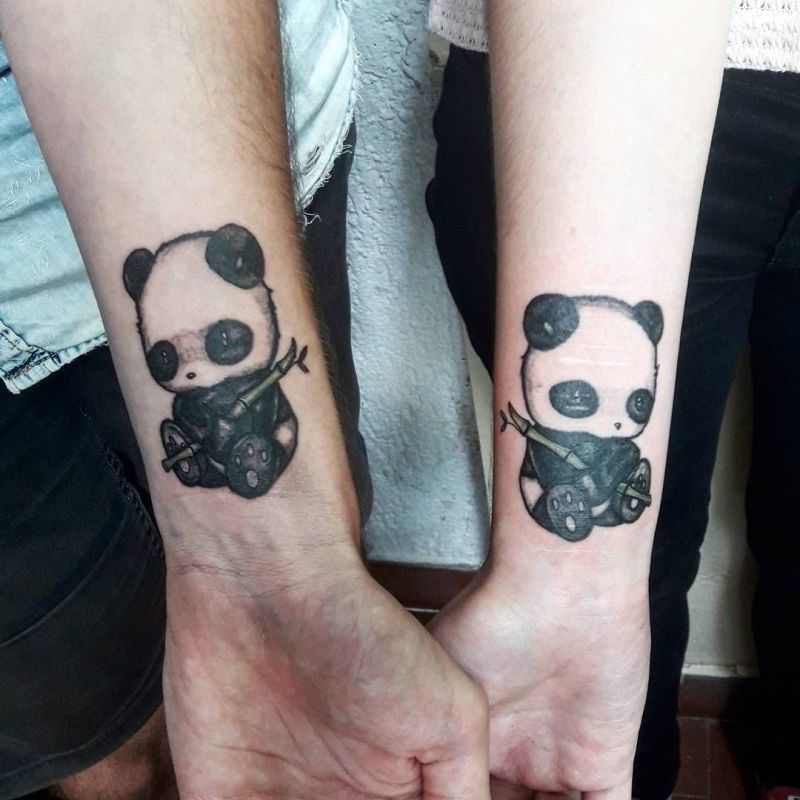 matching couple tattoos
