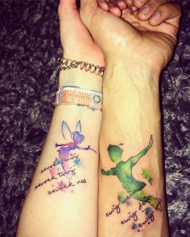 creative couple tattoos