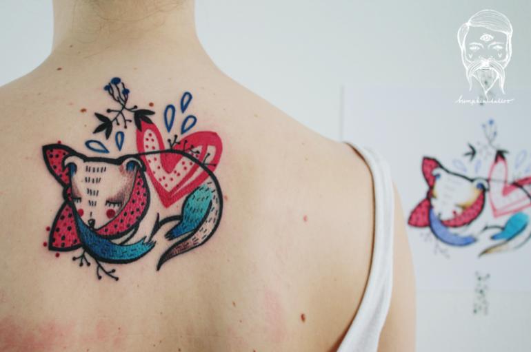 sketchy tattoos