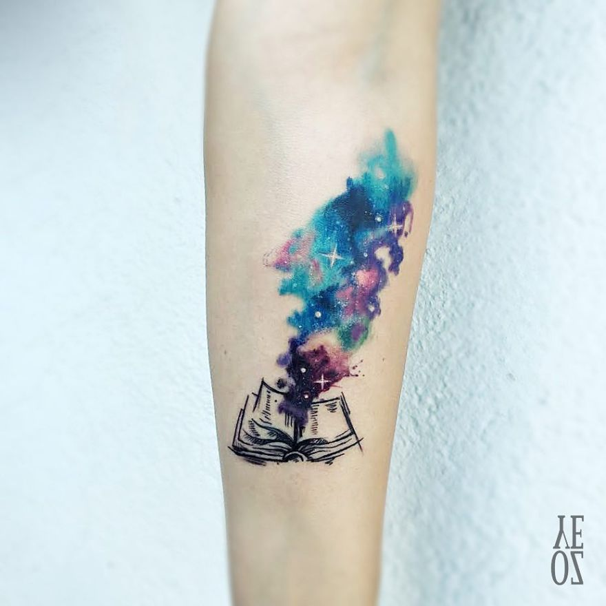 book inspired tattoos