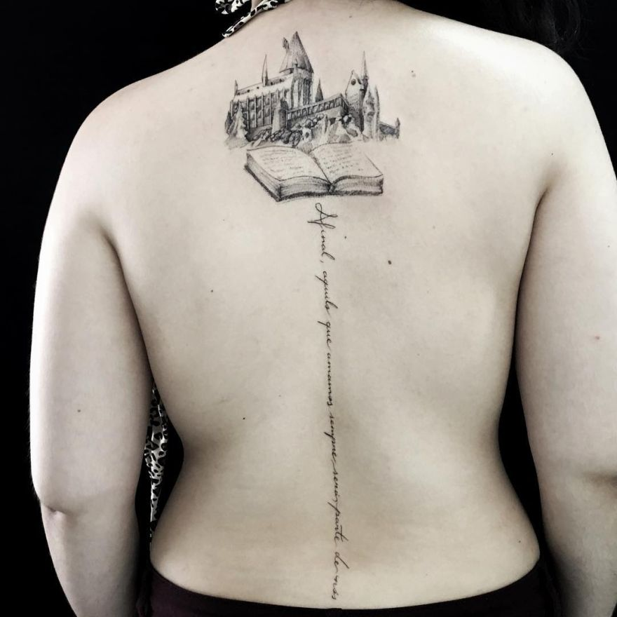 creative book tattoo ideas