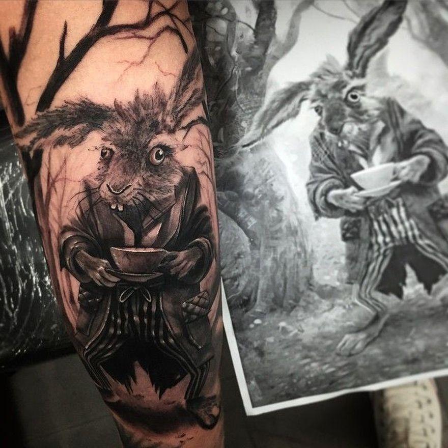 photo-realistic tattoos