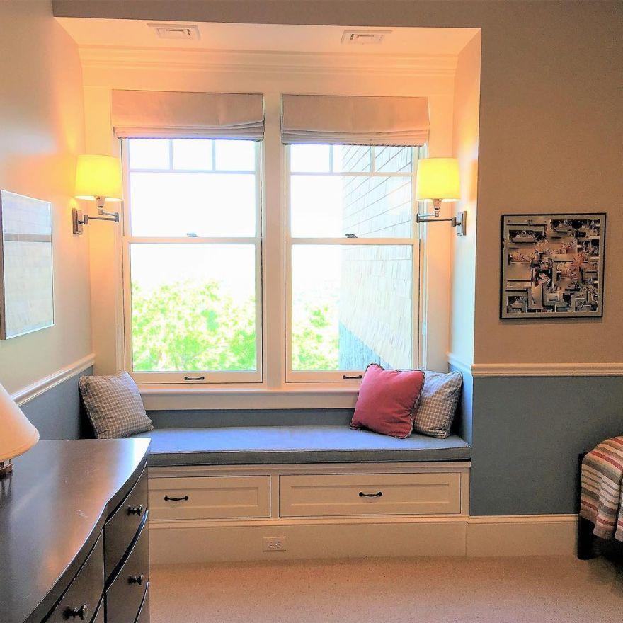 window reading nook
