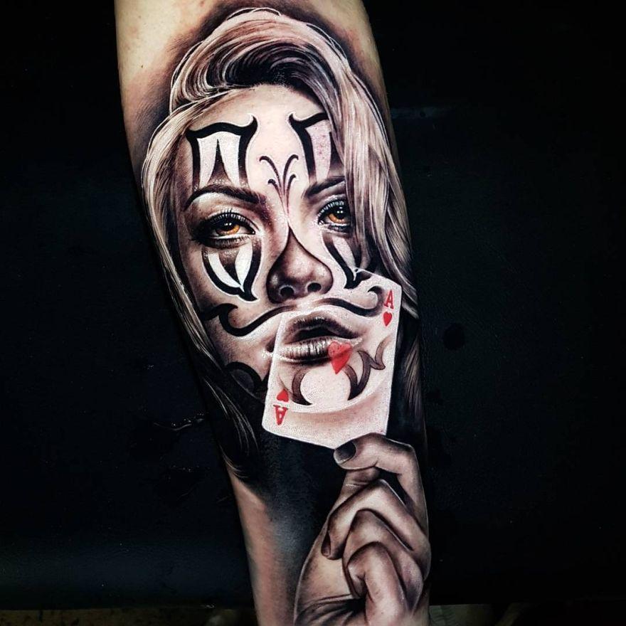 Day of the Dead tattoo by Benji_Roketlauncha