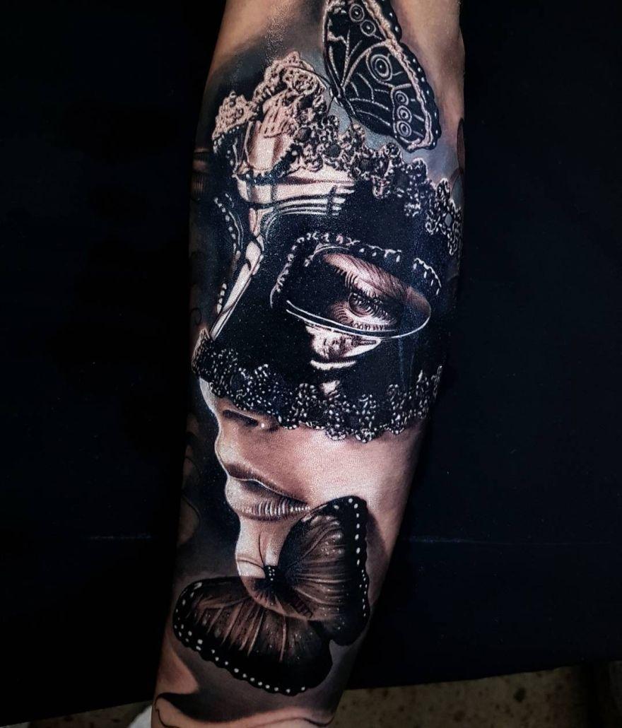 tattoo by Benji Roketlauncha