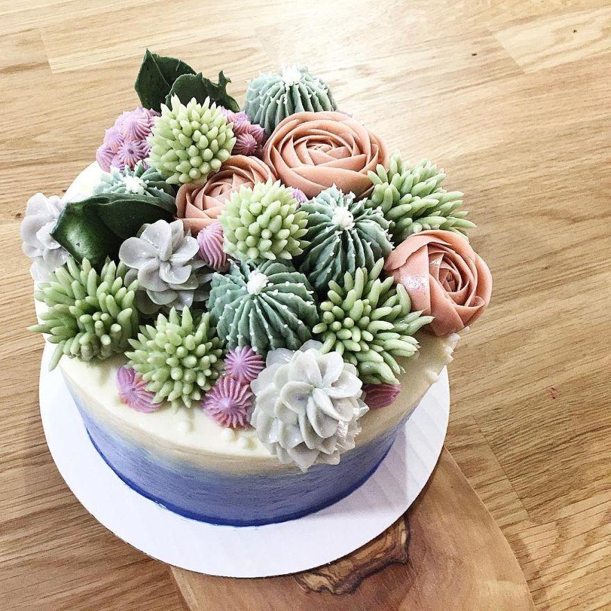 succulent cake