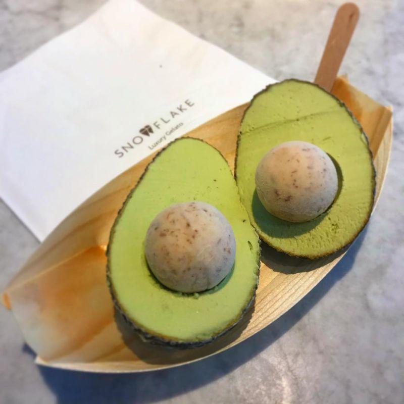 avocado vegan ice cream