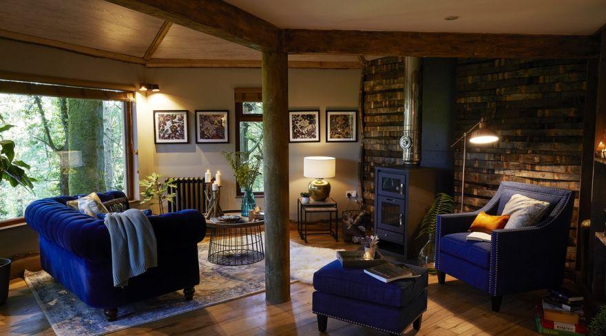 luxurious treehouse