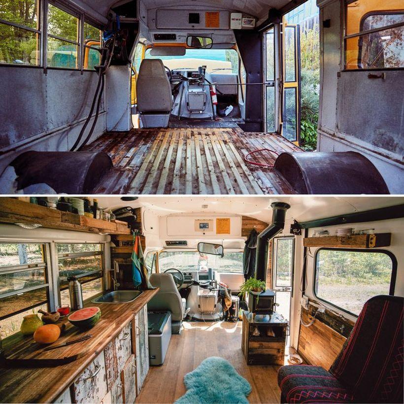 adventure van - converted school bus